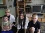 Студенты-первокурсники в детском доме Ласточка