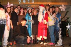 Новый год 2013 на отделении  «Допрофессиональной подготовки»